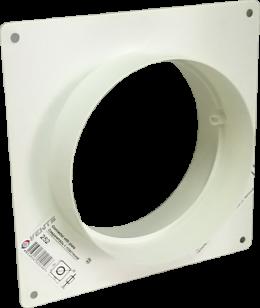 Соединитель с пластиной д.125 (Vents art.252)