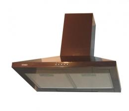 кухонная вытяжка каминного типа germes piramida 50brown