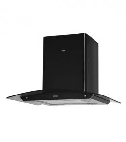 кухонная вытяжка каминного типа grand hc6236a-s sensor black (Верона)