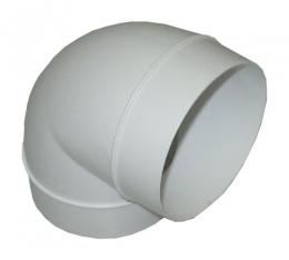 колено 90 градусов, на вентиляционные трубы д.100 (vents art.121/runair)