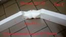 колено 45 градусов, на вентиляционные трубы д.125 (vents art.222-45)