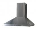 кухонная вытяжка каминного типа germes piramida 60inox