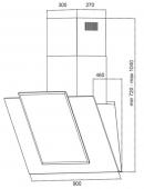 GRAND amelia 90 white (HC9225 F-W)