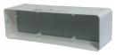 соединитель для короба 60*204 с клапаном (vents art.8181)