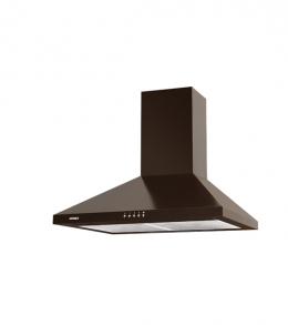 кухонная вытяжка каминного типа germes piramida 60brown
