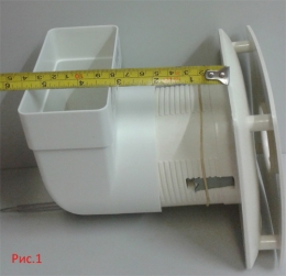 вытяжной вентилятор cata x-mart 10 inox T(с таймером)