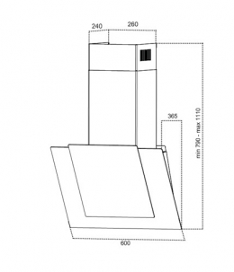 Grand Modena Sensor White 60 (HC62119 F-W)