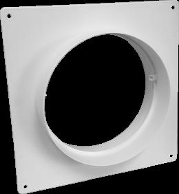 Соединитель с пластиной д.150 (Vents art.353)