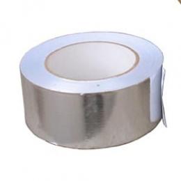 Скотч алюминиевый 50х50 мм (25 мкм)
