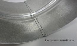 Колено сегментное d 125 на 90 гр.