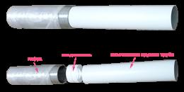 вентиляционная труба art.1010 (1м.п.)