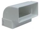 колено вертикальное на короб 55*110 (vents art.5252/RunAir)