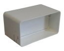соединитель для короба 55*110 с клапаном (vents art.5151/runair)