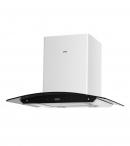 кухонная вытяжка каминного типа grand hc6236a-s sensor white (Верона)