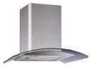 кухонная вытяжка каминного типа grand hc5236a-s inox (Верона)