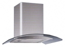 кухонная вытяжка каминного типа grand hc6236a-s inox (Верона)