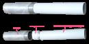вентиляционная труба art.2010